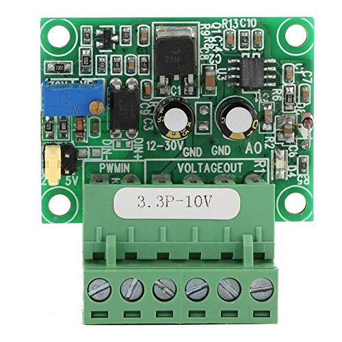 Rockyin 3,3 V PWM-Signal zu 0-10V Spannungswandler D/A Digital-Analog-SPS-Modul