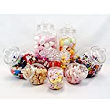 jars2u Plastic Jar Party Pack-10 Assorted Jars