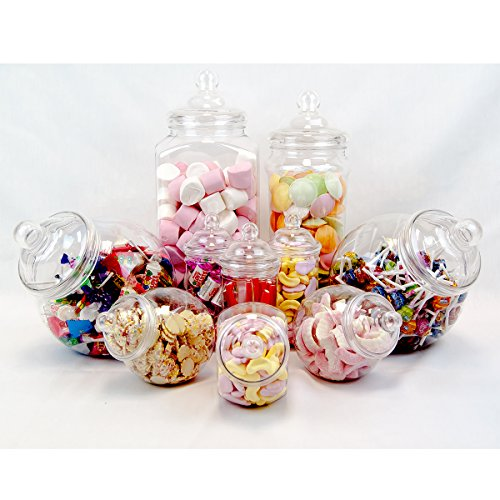 clear candy containers - 8