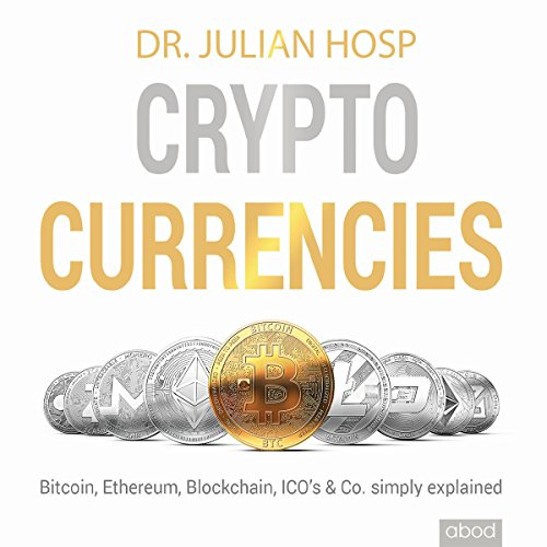 Cryptocurrencies simply explained audiobook cover art
