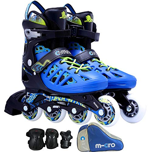 niujf adjustable inline skates with