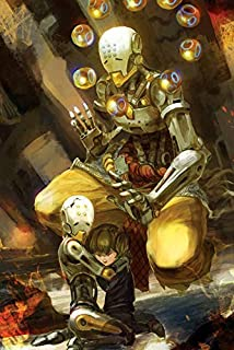 JinJing Prints Overwatch Zenyatta 24inch x 36inch Customized Silk Print Poster | Silk Wallpaper | Silk Printing
