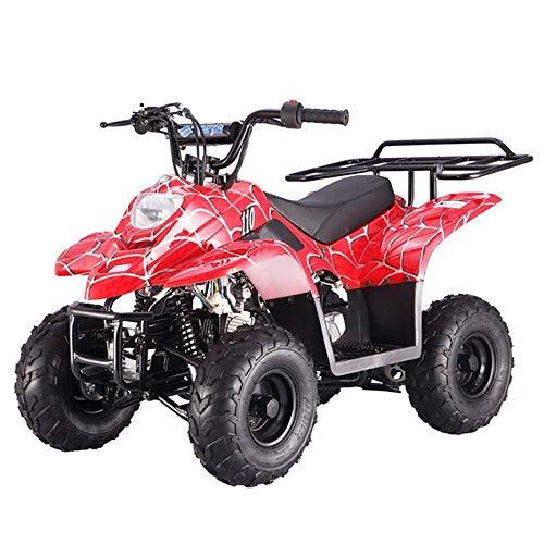 X-PRO 110cc ATV Quad Youth ATVs Quads 110cc 4 Wheeler ATVs ATV 4 Wheelers ,Spider Red