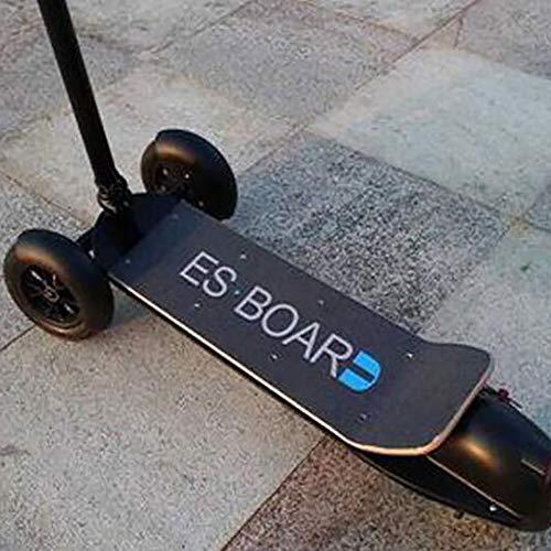 SHENXX Triciclo Elettrico Pieghevole per Adulti, Mini Scooter Elettrico Multifunzione con Portatile a Doppio, 35 Km Unisex,A