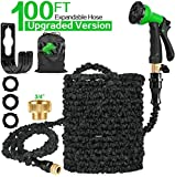 Best Expanding Garden Hoses - 100 FT Expandable Garden Water Hose Pipe Review
