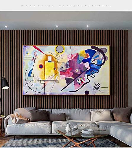 Yolada 5D Kits pintura de diamantes tamaño grande DIY Diamond Painting Large taladro completo bordado Mondrian Full Drill punto de cruz mosaico arte decor de la pared,Taladro redondo,90x180cm