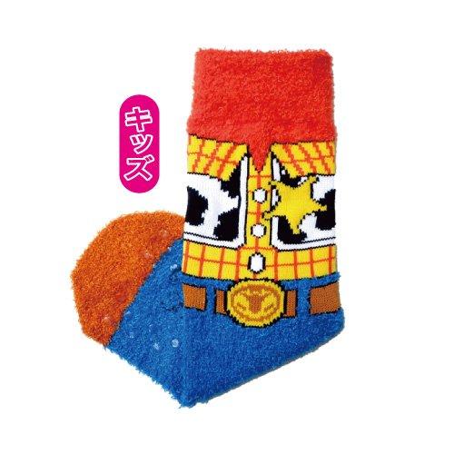 Mokkomoko Chaussettes pour enfant Motif Woody icon AWDS2565J Japon (Allemagne)