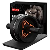KEEP FUN Ab Roller for Abs Workout, Ab Roller Wheel Exercise Equipment with Ab Mat,Ab Roller Set for Abdominal Exercise Ab Roller Machine for Women Men Core Abs Workout Equipment for Home Gym