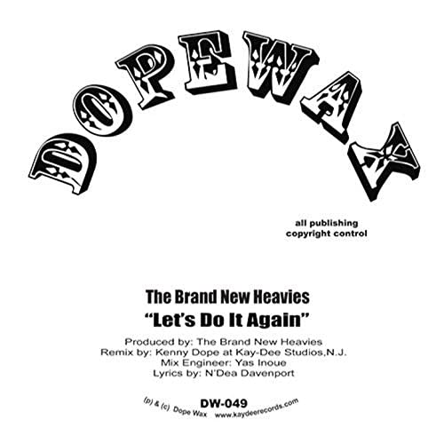 The Brand New Heavies & Kenny Dope