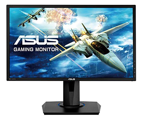 ASUS VG245Q 61 cm (24 Zoll) Gaming Monitor (Full HD, VGA, HDMI, DisplayPort, 1ms Reaktionszeit, FreeSync) schwarz