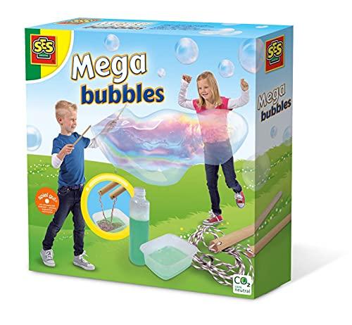 SES Creative- Set de Mega Burbujas Juego de pompas, Multicolor (02251)