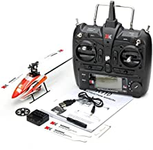 MeterMall XK K110 Brushless RC Helicopter RTF / BNF for Kids Children Funny Toys Gift RC Drones Outdoor K110 with Remote Control