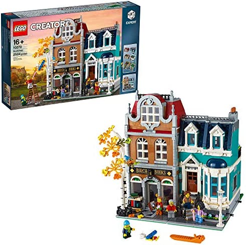 LEGO Creator Expert Bookshop 10270 Modular Building Kit Big LEGO Set and Collectors Toy for product image