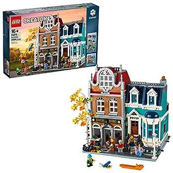LEGO Creator Expert Bookshop 10270 Modular Building Kit Big Set and Collectors Toy for Adults  2,504 Pieces