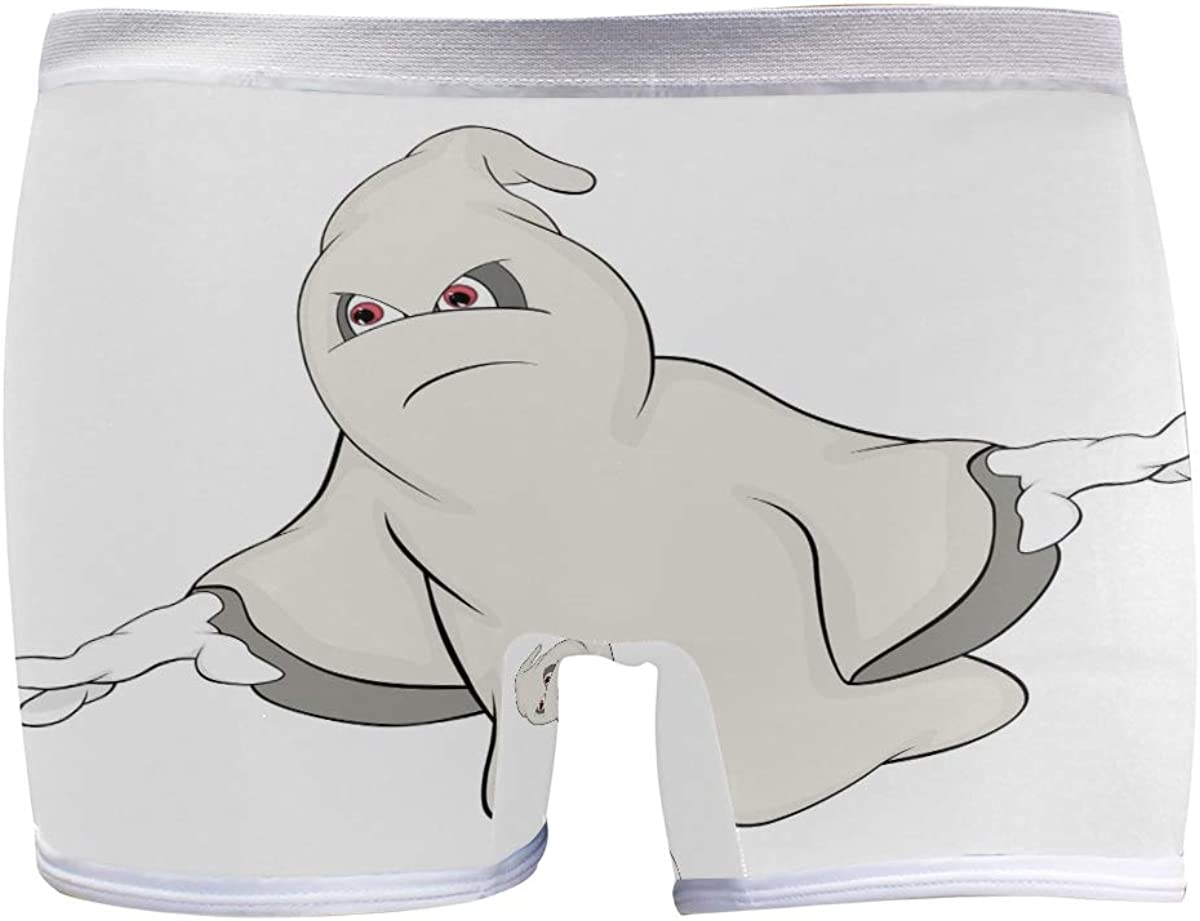 SLHFPX Sale Womens Hipster Panties mart Underwear Cartoon Funny Cool Ghost