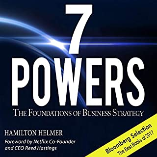 7 Powers audiobook cover art
