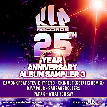 25 Years Of Klp Records , Sampler 3