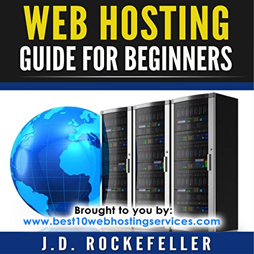 Web Hosting Guide for Beginners audiobook cover art