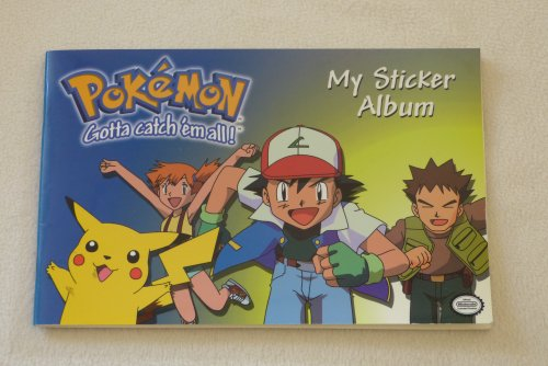 Pokemon My Sticker Album (Gotta Catch 'em All! Official Nintendo Licensed Product)