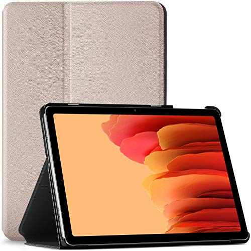 Forefront Cases Hulle fur Samsung Galaxy Tab A7 104 Schutz Galaxy Tab A7 Hulle Stander Gold Dunn Leicht Smart Auto SchlafWach Samsung Galaxy Tab A7 104 Zoll 2020 Hulle Tasche