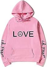 Unisex Love Print Hoodies Long Sleeve Tops Lil Peep Pullovers Sweatshirt with Front Pocket
