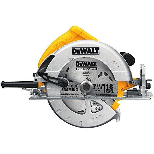 DEWALT 7-1/4-Inch Circular Saw, Lightweight (DWE575)