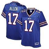 NFL PRO LINE Women's Josh Allen Royal Buffalo Bills Team Player Jersey
