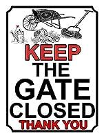 Keep the Gate Closed ティンサイン ポスター ン サイン プレート ブリキ看板 ホーム バーために