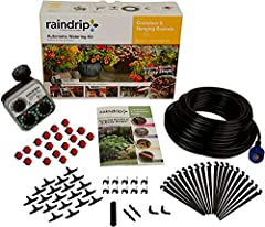 This kit has everything you need to get started with drip irrigation and stop watering your plants by hand Three simple steps to install This kit. Completely customizable kit to water your potted plants, hanging baskets Comprehensive kit included The...