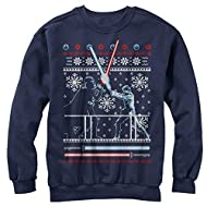 Men's Star Wars Ugly Christmas Duel Sweatshirt