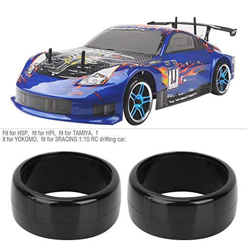4 STÜCKE 26 MM Harte Reifen RC Drift Gummirad Reifen fit for3RACING 1:10 RC Drifting Auto(Typ 2)
