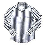 [フィナモレ] CAPRI VERONA カプリ ヴェローナ ネップストライプ ワンピースカラーシャツ 37