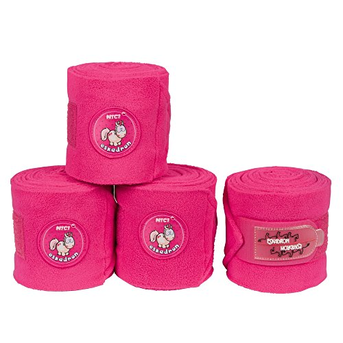 Eskadron Bandagen Fleece (NICI ltd. 2018), Bubble pink, 3.5 m