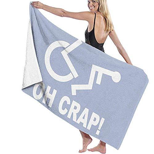 Babydo Zwembad handdoek Crap Handicap Rolstoel Microvezel Beach Handdoeken Snelle Droge Super Absorbens Handdoek voor Camping 80X130cm