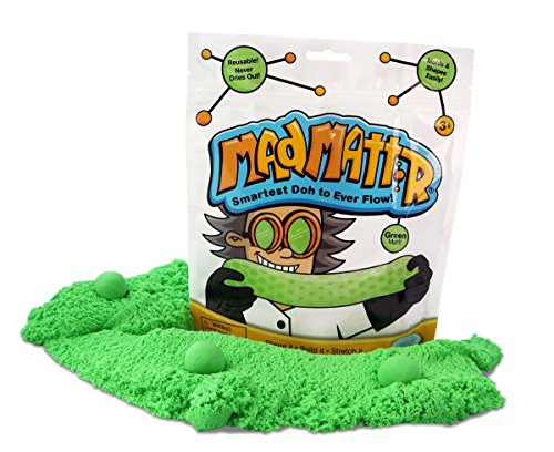 MAD MATTR Super-Soft Modelling Dough Compound That Never Dries Out by Relevant Play (Green, 10oz)
