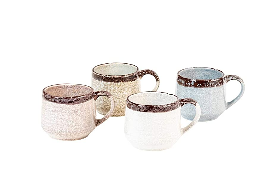 Halford Mixed Set of 4 Assorted Mugs