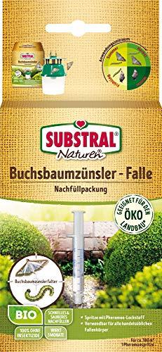Substral Bio Buchsbaumzünsler Nachfüllpheromon für alle gängigen Buchsbaumzünsler Fallen, Pheromon Lockstoff, 1ml