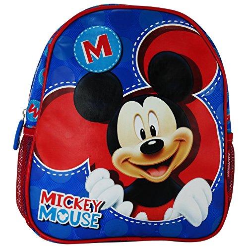 Disney Mickey Let\'s Play Mochilla Bolso Escolar por Niña Chica Asilo Lonchera