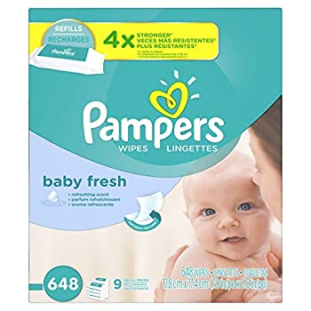 Pampers Fresh, Baby Wipes