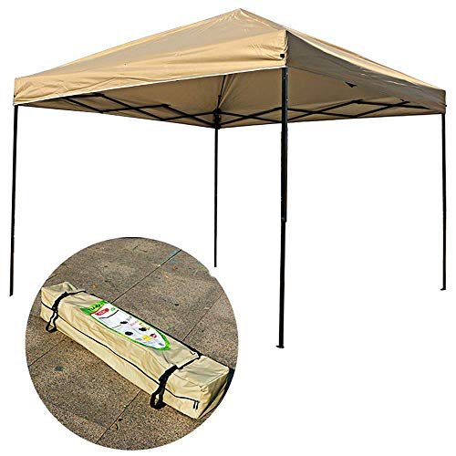 outdoor Gazebo 10 x 10' Canopy Tent Shelter,Instant Shade, Outdoor Pop-Up Portable Shade Instant Folding Canopy with Carry Bag