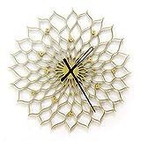 Gigantesco reloj de girasol - 90 cm reloj de pared de tamaño gigante