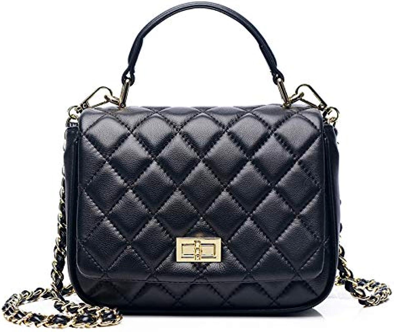 ASHIJIN Genuine Bag for Women Luxury Fashion Women Handbags Designer Handbags Chain Women Shoulder Bag Female Bags