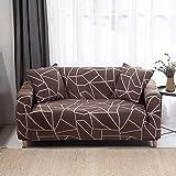 WXQY Sala de Estar Funda de sofá elástica en Forma de L combinación de Funda de sofá de Esquina Todo Incluido combinación de Funda de sofá Antideslizante A17 1 Plaza