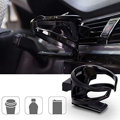 LITTLEMOLE Car Cup Holder, Car Outlet Air Vent Mount, Adjustable Drink Stand for Mugs, Water, Coffee, and Can