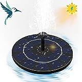 Qaxlry Solar Bird Bath Fountain,Upgraded Bionic Water Pump with 4...