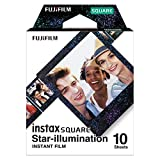 Fujifilm instax Square Star Illumination, película instantanea, 10 fotos