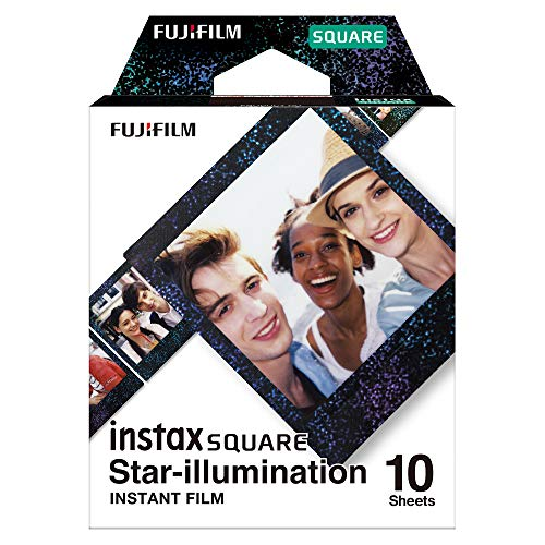 Fujifilm Instax Square Star Illumination, Bunt metallic