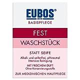 Eubos Waschstück Rot - Frischeduft -Zur täglichen, medizinisch schonenden Körperreinigung für...