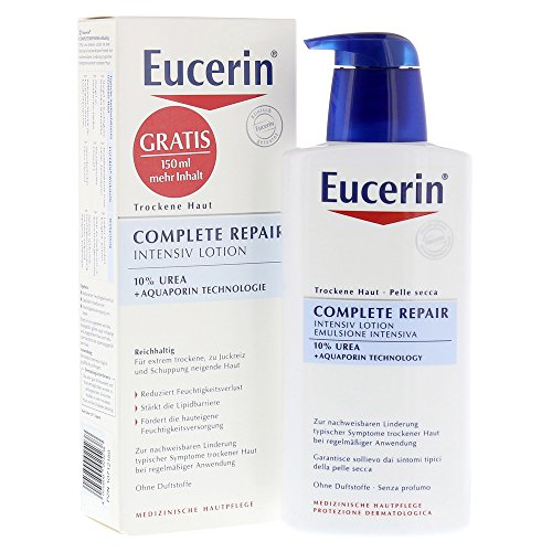 Eucerin Complete Repair Intensiv Lotion 10{1a968bff184fdfb52ac25edcf80ca5d315d8a45d2059ee9e405dc9a6f75c8f0f} Urea, 400 ml