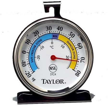 Manufacturer regenerated product T-5924 Classic Freezer Thermometer Fixed price for sale Refrigerator